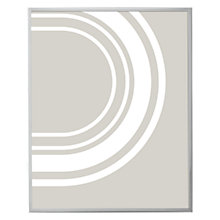"Buy John Lewis Daya Photo Frame, 8 x 10"" (20 x 25cm), Daya Silver Online at johnlewis.com"