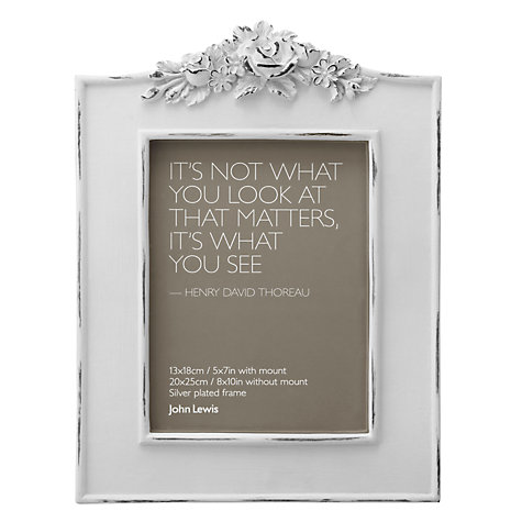Buy John Lewis French Photo Frame Online at johnlewis.com