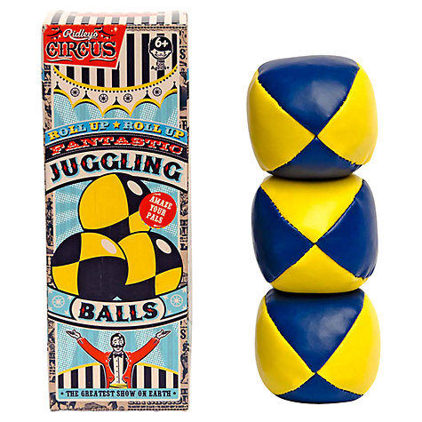Buy Ridley's Circus Juggling Balls Online at johnlewis.com