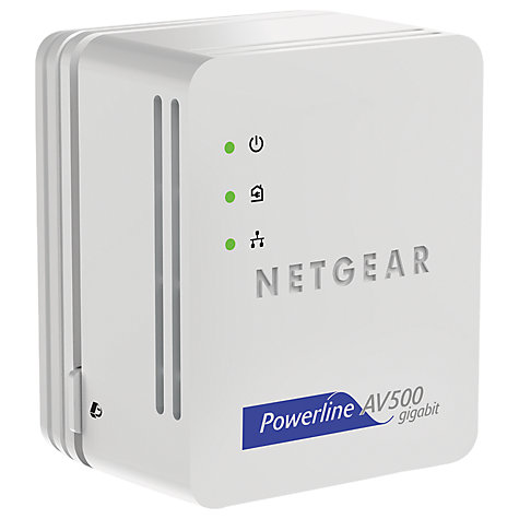 Buy Netgear Nano Powerline Signal Repeater, 500MBPS Online at johnlewis.com