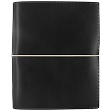 Buy Filofax Domino A5 Organiser, Black Online at johnlewis.com
