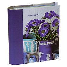 Buy Ryland Peters & Small Jane Packer Address Book, Blue Online at johnlewis.com