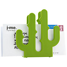 Buy j-me Cactus Letter Holder, Lime Online at johnlewis.com