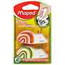 Maped Fish and Snail Novelty Erasers, Pack of 2