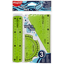Buy Maped Twist and Flex Geometry Set Online at johnlewis.com