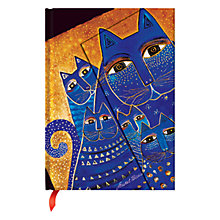 Buy Paperblanks Mediterranean Cats Journal, Midi Online at johnlewis.com