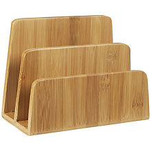 Buy John Lewis New Bamboo Letter Sorter Online at johnlewis.com