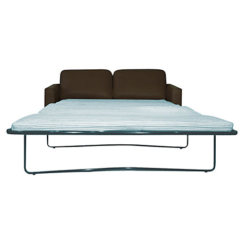 Buy John Lewis Portia Sofa Bed, Earth / Dark Leg Online at johnlewis.com