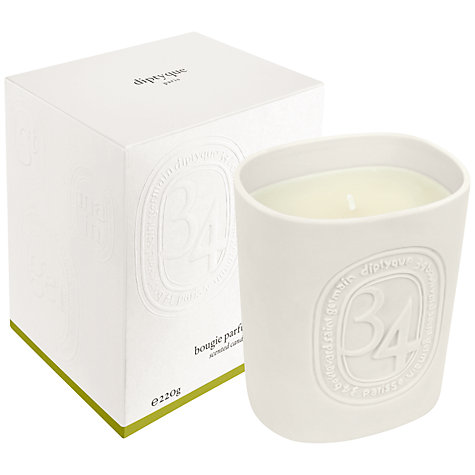 Buy Diptyque 34 Boulevard Saint Germain Candle, 220g Online at johnlewis.com