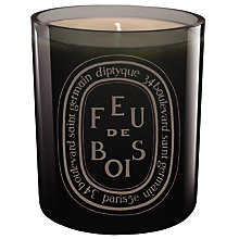 Buy Diptyque Feu de Bois Gris Candle, 300g Online at johnlewis.com