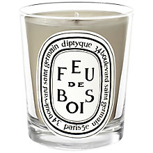 Buy Diptyque Feu de Bois Scented Mini Candle, 70g Online at johnlewis.com