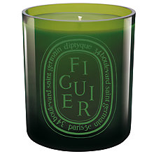Buy Diptyque Figuier Vert Candle, 300g Online at johnlewis.com