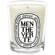 Buy Diptyque Menthe Verte Candle, 190g Online at johnlewis.com