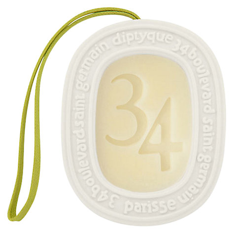 Buy Diptyque 34 Boulevard Saint Germain Scented Oval, 100g Online at johnlewis.com