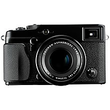 "Buy Fujifilm X-Pro 1 Compact System Camera, 18mm f/2 R Lens, HD 1080p, 16MP, 3"" LCD Screen, Black Online at johnlewis.com"