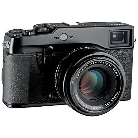 "Buy Fujifilm X-Pro 1 Compact System Camera, HD 1080p, 16MP, 3"" LCD Screen, Black, Body Only Online at johnlewis.com"