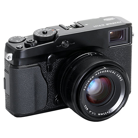 Buy Fujifilm X-Pro 1 Compact System Camera, HD 1080p, 16MP, 3 LCD Screen, Black, Body Only Online at johnlewis.com