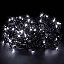 Buy John Lewis LED Connectable Christmas Lights, x96 Online at johnlewis.com