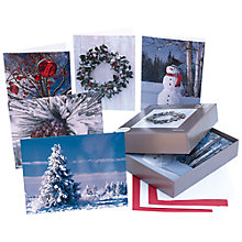 Buy John Lewis Photographic Bumper Box of Charity Christmas Cards, Box of 25 Online at johnlewis.com