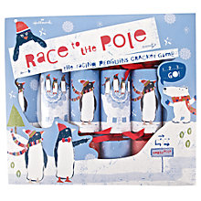 Buy John Lewis Race to the Pole Game Crackers, Pack of 6 Online at johnlewis.com