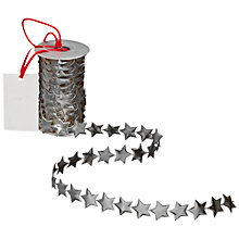 Buy John Lewis Star Spool, Silver, L2.5m Online at johnlewis.com