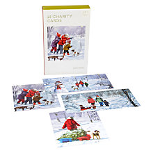 Buy Snowy Scenes Bumper Box of Christmas Cards, pack of 30 Online at johnlewis.com