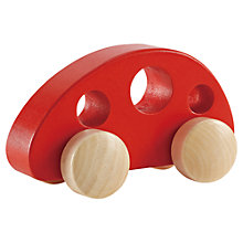 Buy Hape Little Van, Red Online at johnlewis.com