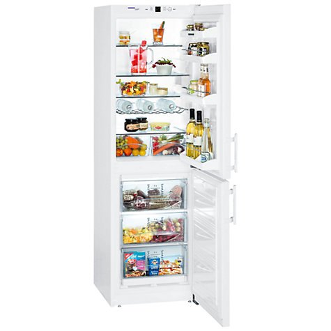 Buy Liebherr CUN3033-22 Fridge Freezer, White Online at johnlewis.com