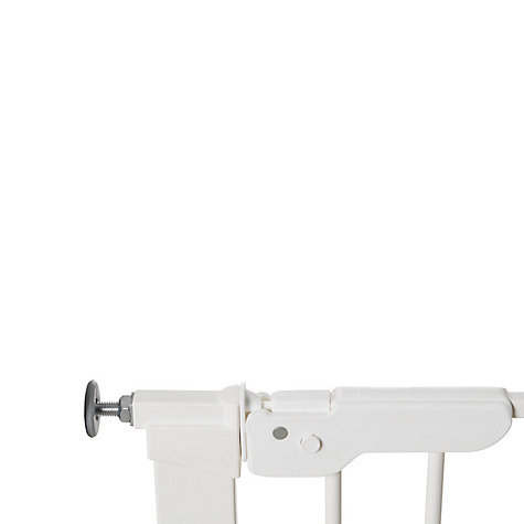 Buy BabyDan Premier True Pressure Gate, White Online at johnlewis.com