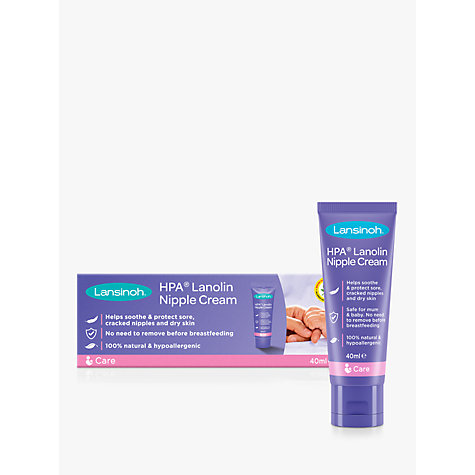 Buy Lansinoh HPA Lanolin Cream, 40ml Online at johnlewis.com