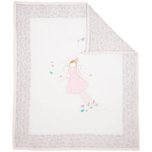 Buy John Lewis Fairy Cotbed Quilt Online at johnlewis.com