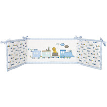 Buy John Lewis Train Bumper, Blue Online at johnlewis.com