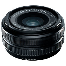Buy Fujifilm 18mm f/2 R Fujinon Pancake Lens Online at johnlewis.com
