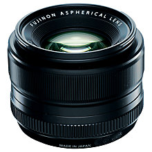Buy Fujifilm XF35mm f/1.4 R Fujinon Standard Lens Online at johnlewis.com