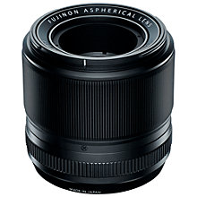 Buy Fujifilm XF60mm f/2.4 R Fujinon Macro Lens Online at johnlewis.com