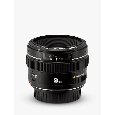 Buy Canon EF 50mm f/1.4 USM Standard Lens Online at johnlewis.com