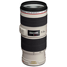 Buy Canon EF 70-200mm f/4L IS USM Telephoto Lens Online at johnlewis.com