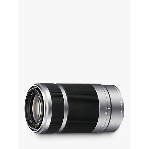 Buy Sony SEL55210 55-210mm f/4.5-6.3 O.I.S Telephoto Lens Online at johnlewis.com
