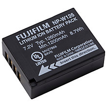 Buy Fujifilm NP-W126 Rechargeable Camera Battery Online at johnlewis.com