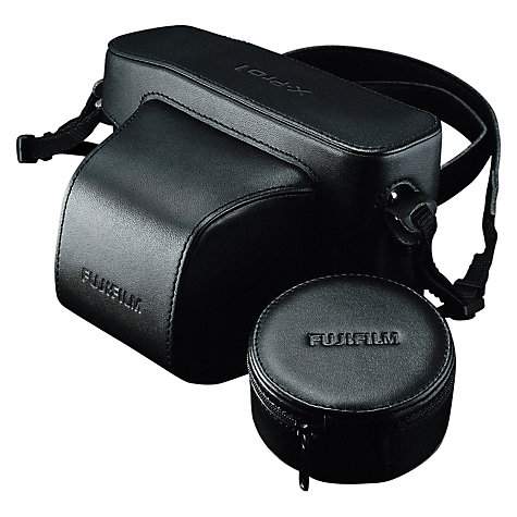 Buy Fujifilm Premium Leather Case for X-Pro 1, Black Online at johnlewis.com