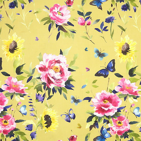 Buy bluebellgray Butterfly Fabric, Saffron Online at johnlewis.com