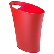 Buy Umbra Skinny Bin, Red Online at johnlewis.com