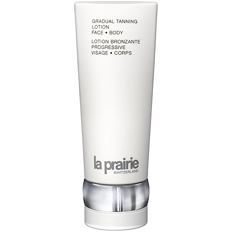 Buy La Prairie Gradual Tanning Lotion Face and Body, 180ml Online at johnlewis.com