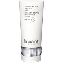 Buy La Prairie Sun Protection Emulsion Face - SPF 30, 125ml Online at johnlewis.com