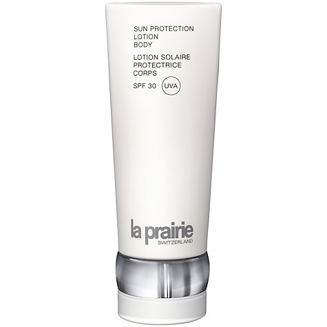 Buy La Prairie Sun Protection Lotion Body - SPF 30, 180ml Online at johnlewis.com