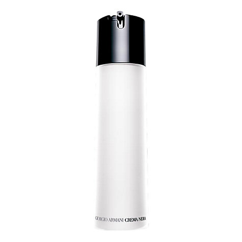 Buy Giorgio Armani Crema Nera Cleansing Milk, 200ml Online at johnlewis.com