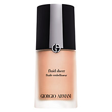 Buy Giorgio Armani Fluid Sheer Skin Illuminator Online at johnlewis.com