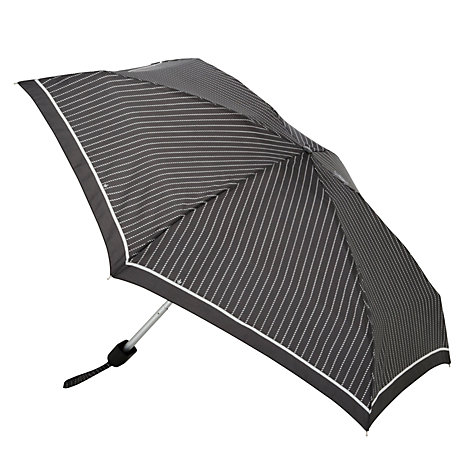 Buy Fulton Tiny-2 Classics Compact Folding Umbrella, Black/White Online at johnlewis.com