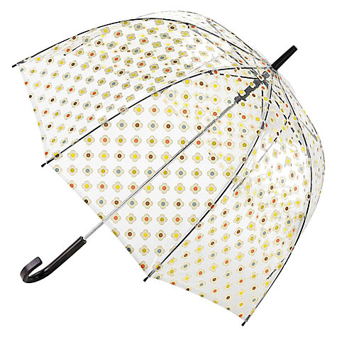 Buy Orla Kiely Vinyl Floral Birdcage Umbrella, Multi Online at johnlewis.com