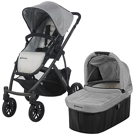 Buy Uppababy Vista Pushchair, Mica Silver Online at johnlewis.com
